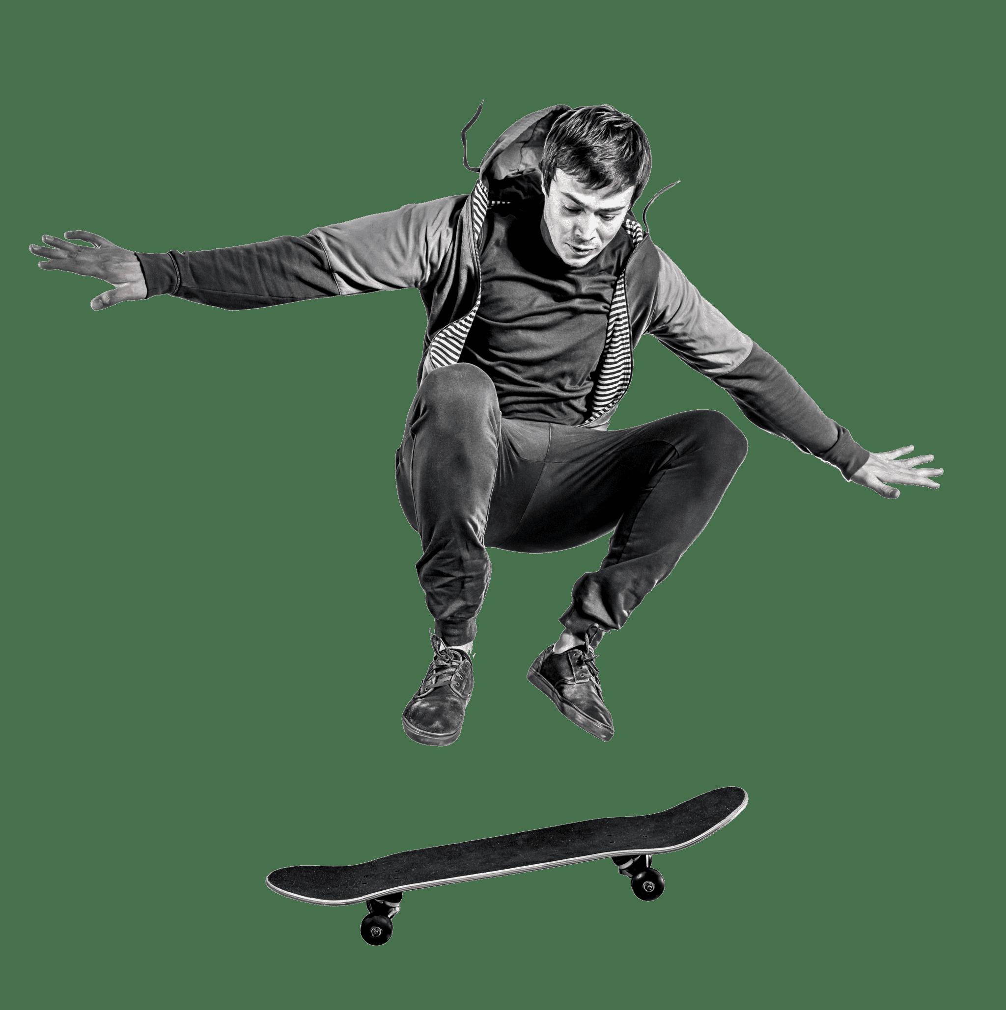 Ramp Armor skateboarder